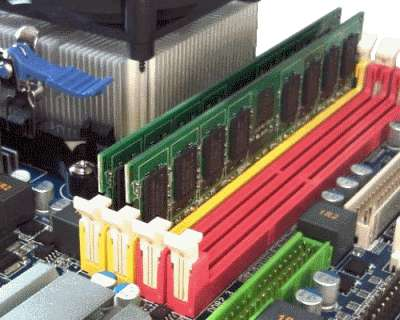 デスクトップパソコンのメモリ