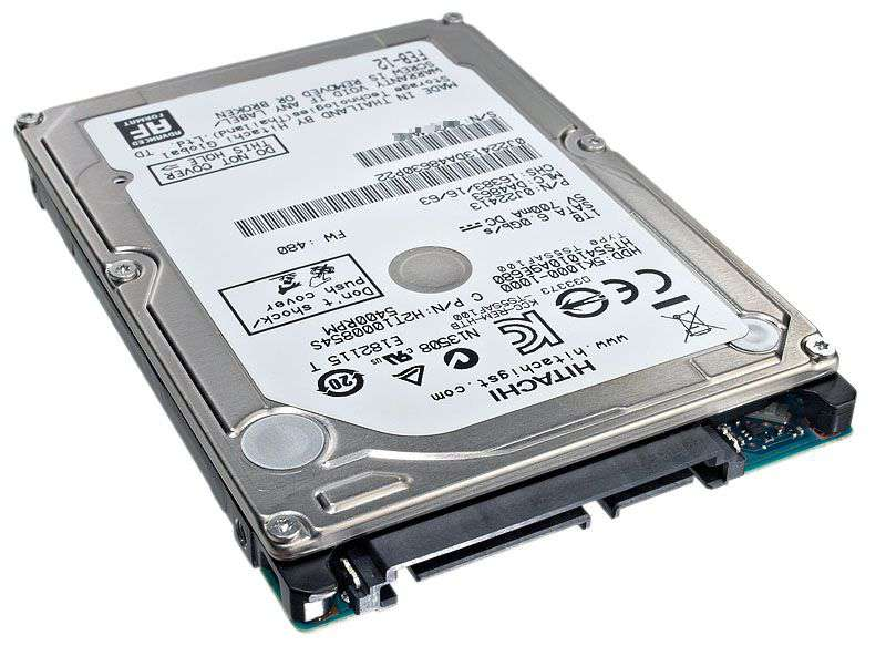 ノートPC用HDD